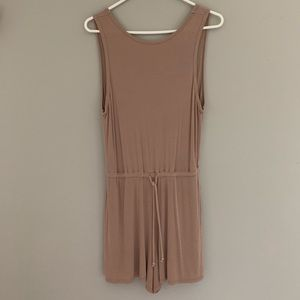 Silence and noice backless romper
